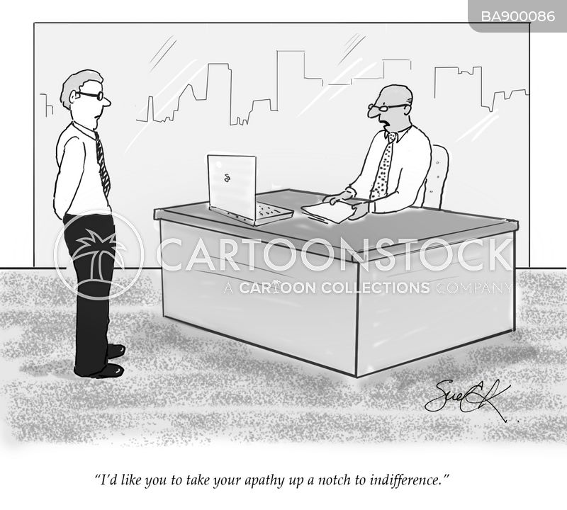 pointless job cartoon