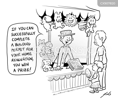 stands cartoon