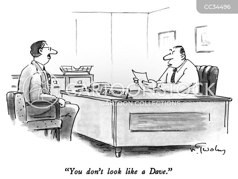 Human Resources Departments cartoon