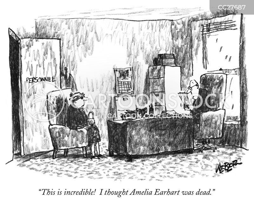 interviewer cartoon