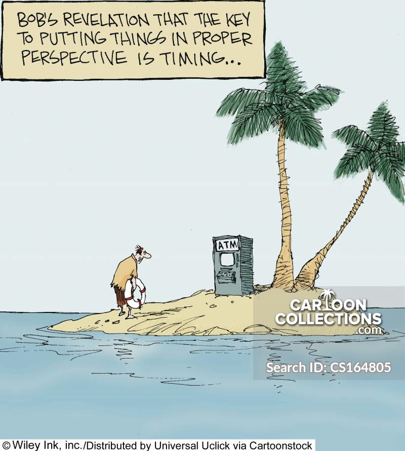 Putting Things In Perspective cartoon