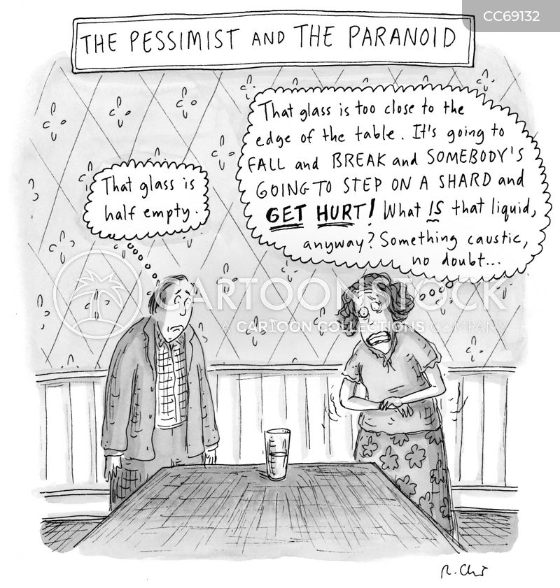 paranoia cartoon