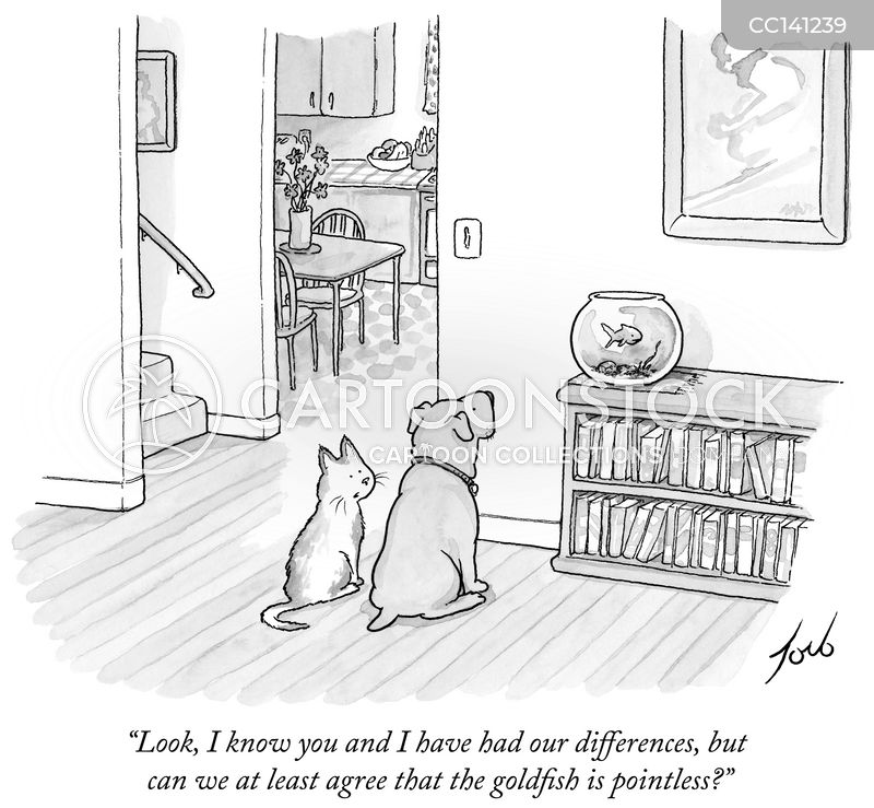 disagreement cartoon