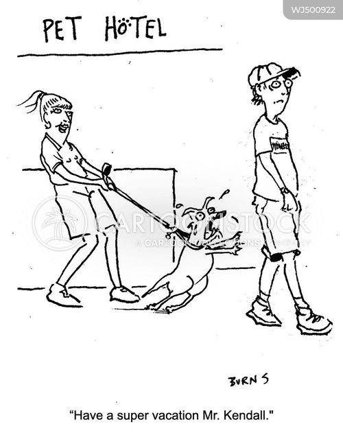 kennel cartoon