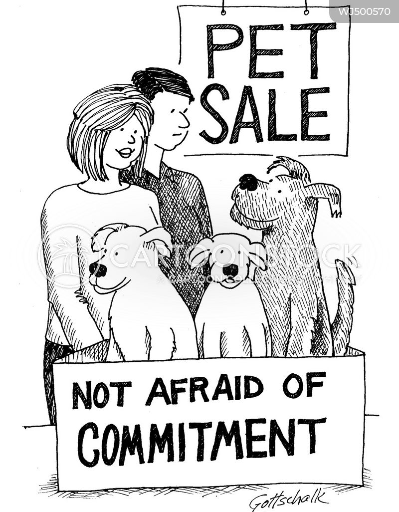 commitment phobes cartoon