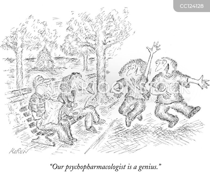 Psychopharmacologists cartoon