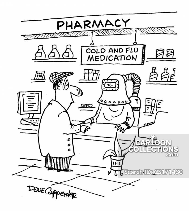 Cold Remedies cartoon