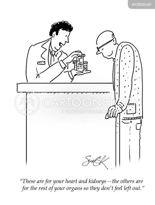 over prescribed cartoon