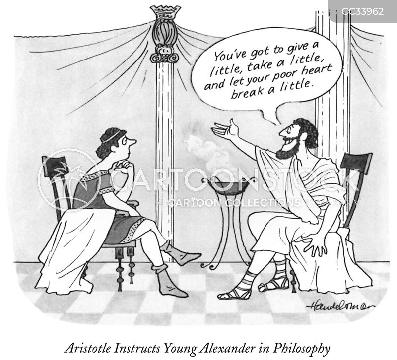 greek philosopher cartoon