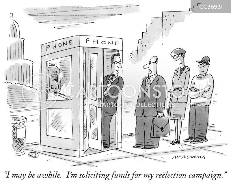 fundraiser cartoon