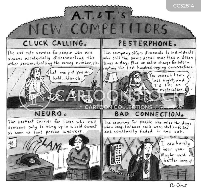 Cold Call cartoon