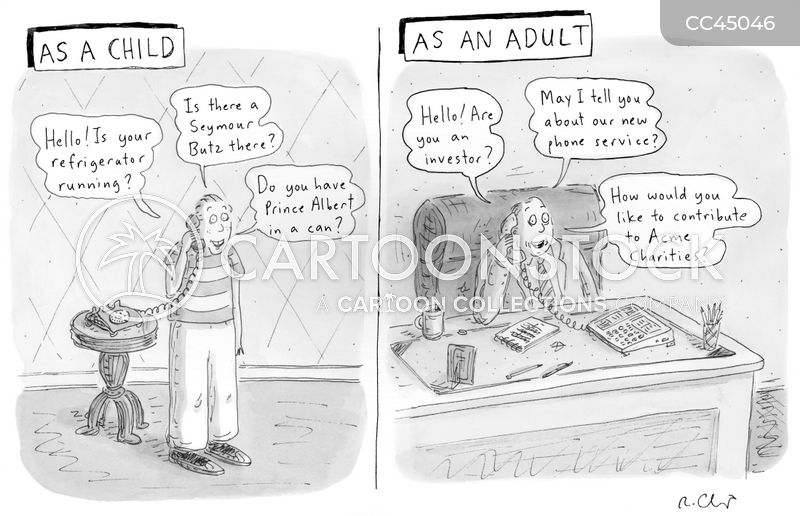 Youthful Transgressions cartoon