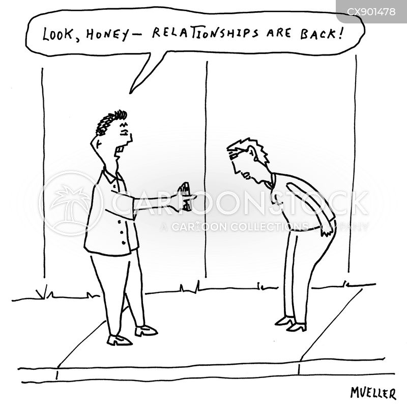 relationships are back cartoon