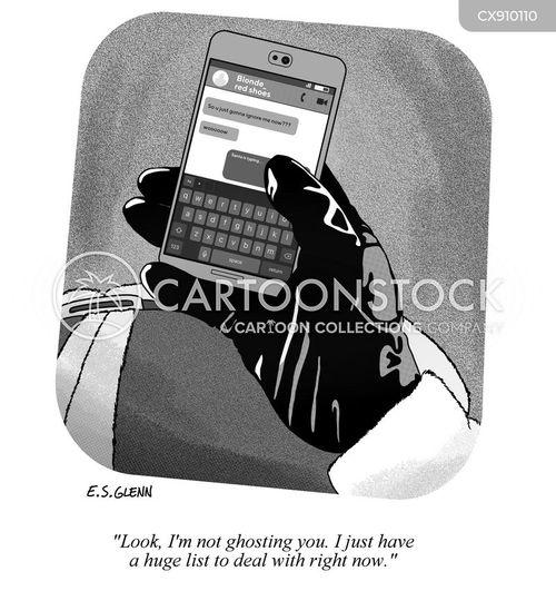calls cartoon