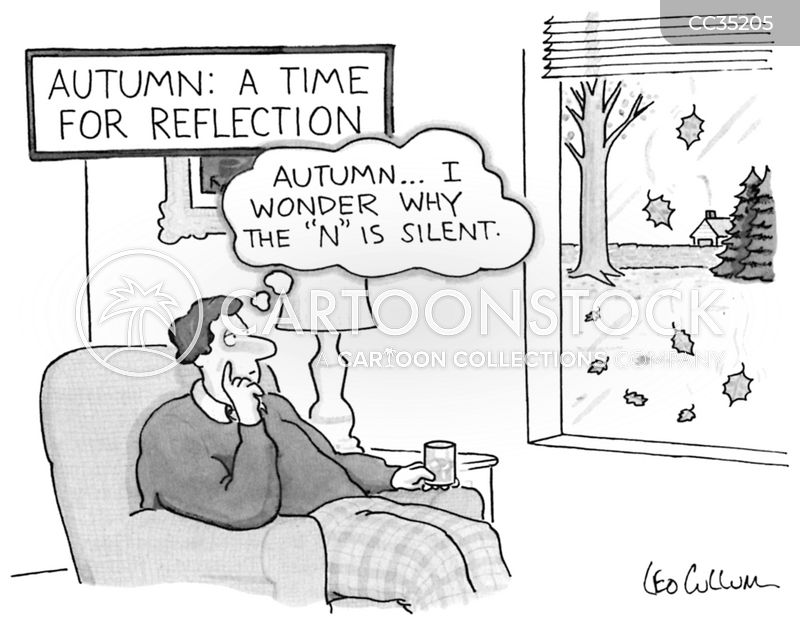 contemplation cartoon