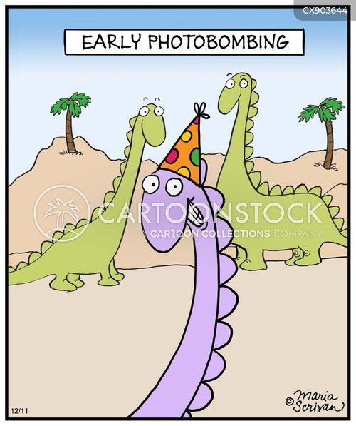 photobomb cartoon