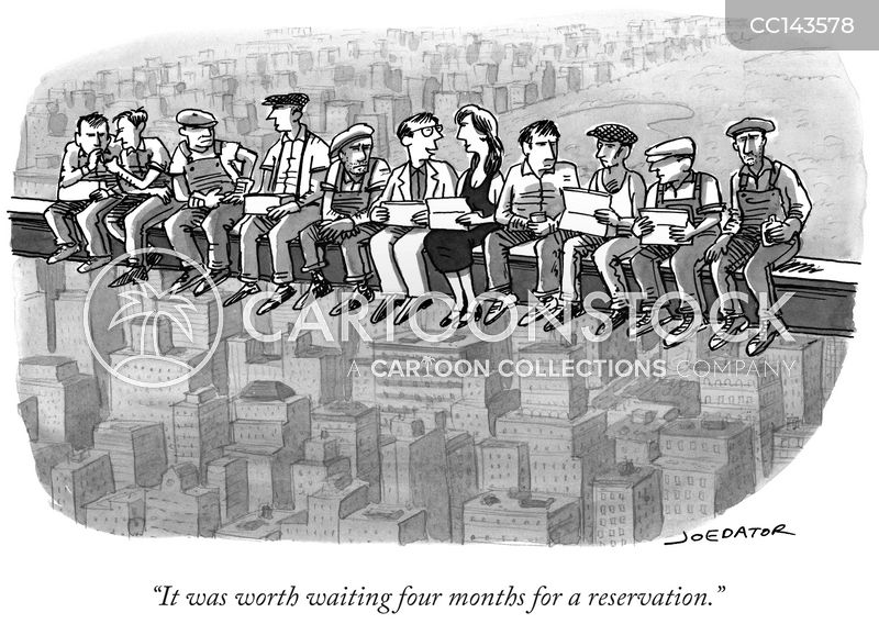 rockefeller center cartoon