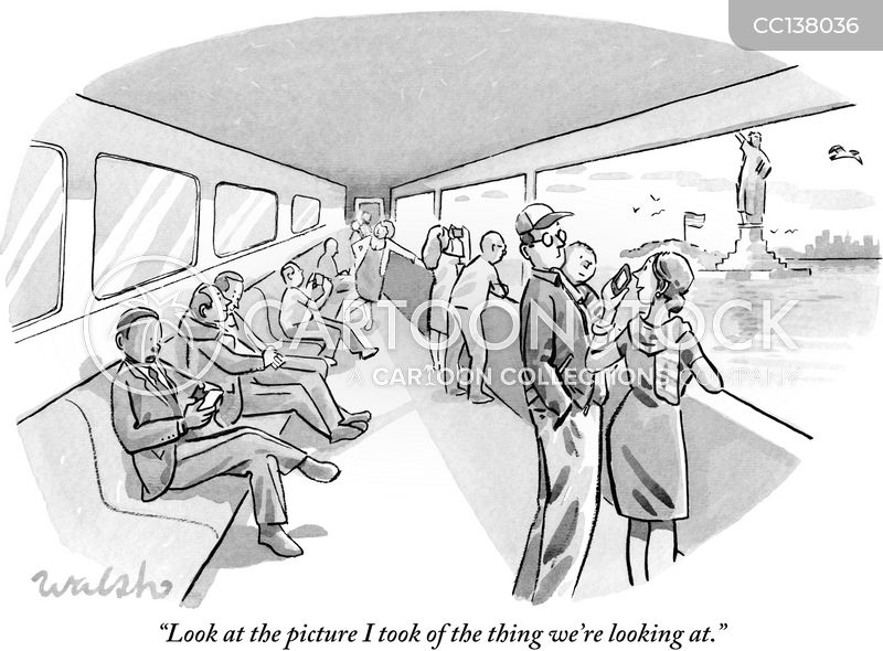 sightseeing cartoon