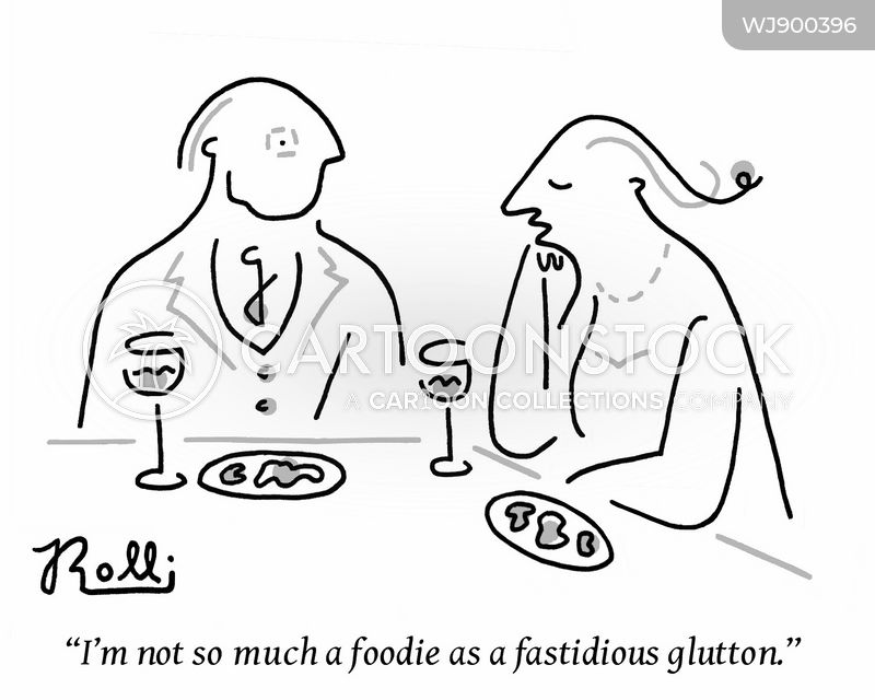 gluttony cartoon