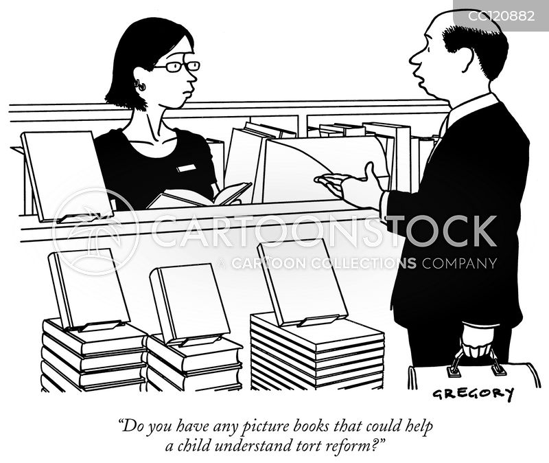 customers cartoon