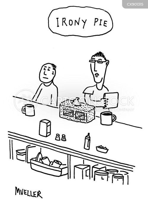 pies cartoon