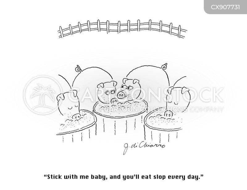 sloppy cartoon