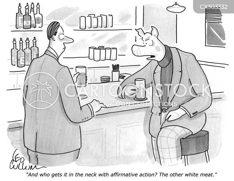 affirmative action cartoon