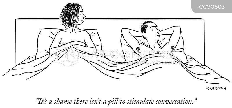 conversing cartoon