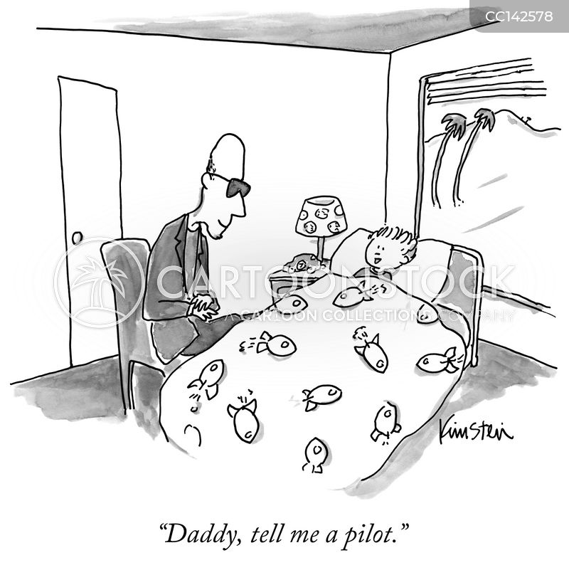 tv pilots cartoon