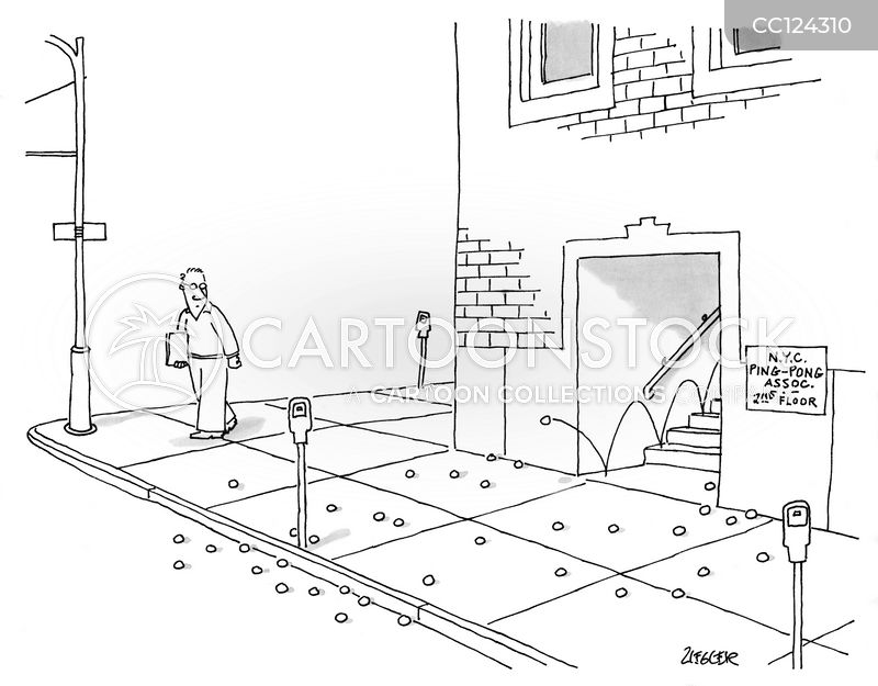 tripping hazards cartoon