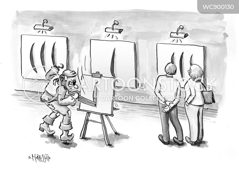 artists cartoon