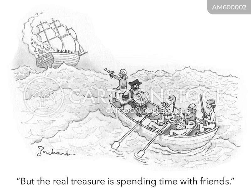 treasure chests cartoon