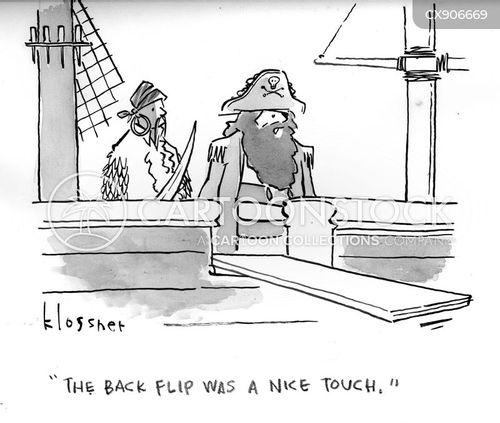 diver cartoon