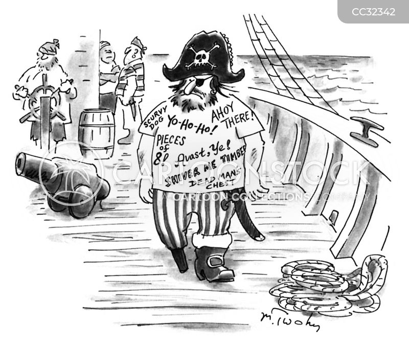 Yo-ho-ho cartoon