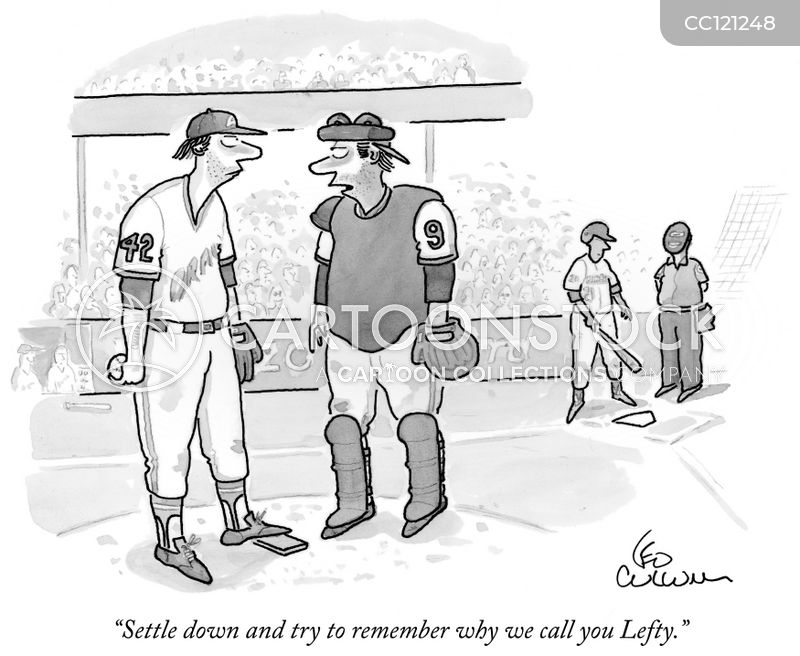 catchers cartoon