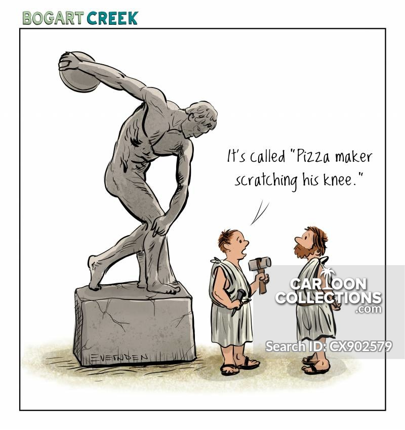 athletics cartoon