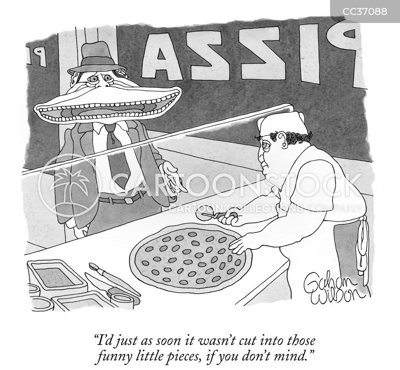 pizza pies cartoon