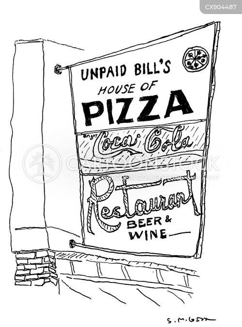 pizzeria cartoon