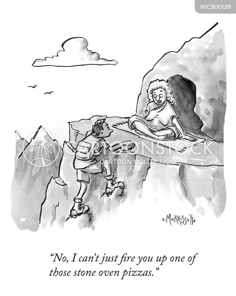 spiritual adviser cartoon