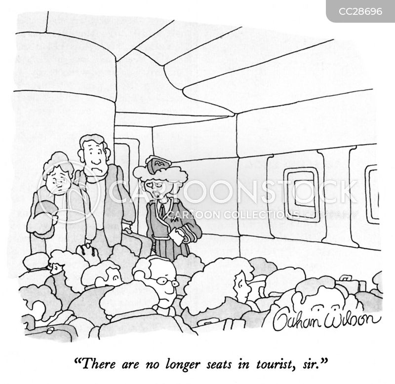 Overtourism cartoon