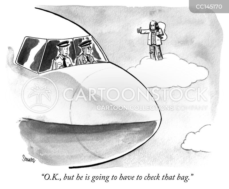 jumbo jet cartoon