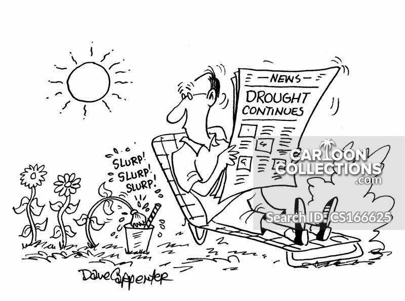 water restrictions cartoon