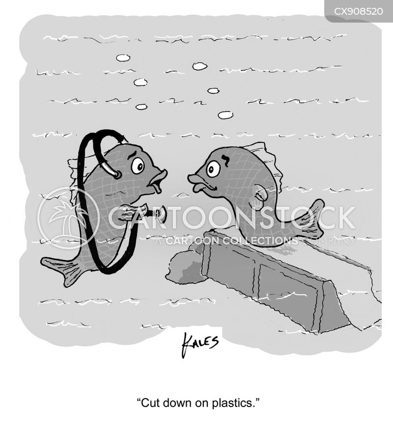 plastic cartoon