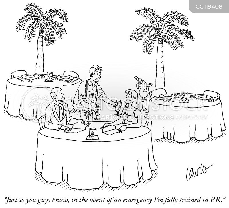 Dine cartoon