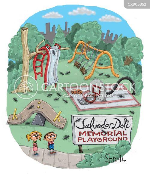 play parks cartoon