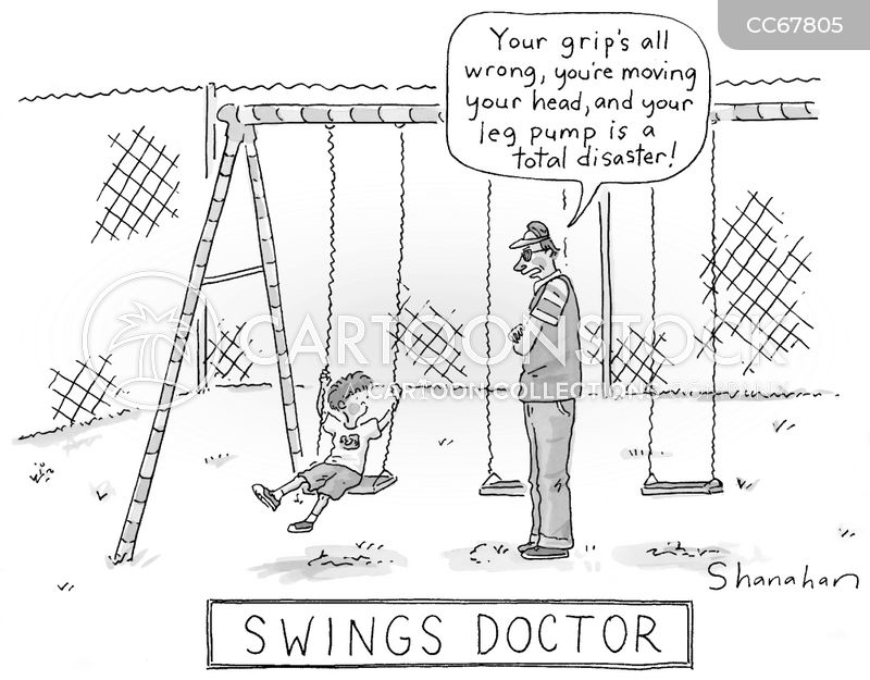 swingset cartoon