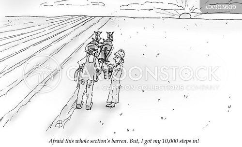 exercise regimes cartoon