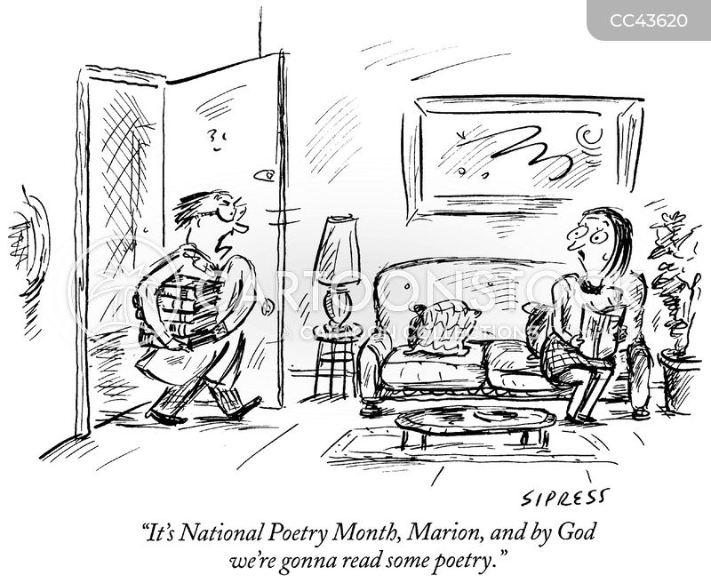 poet cartoon
