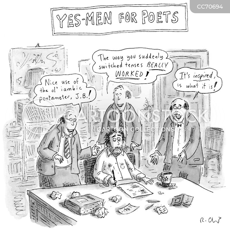 yes-men cartoon