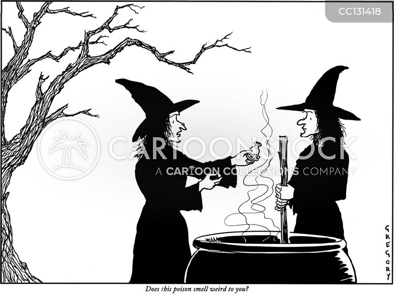 witches cartoon